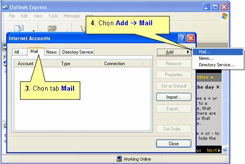 mail outlook vnn, cài mail uotlook vnn, mail megavnn, cai mail adsl vnpt